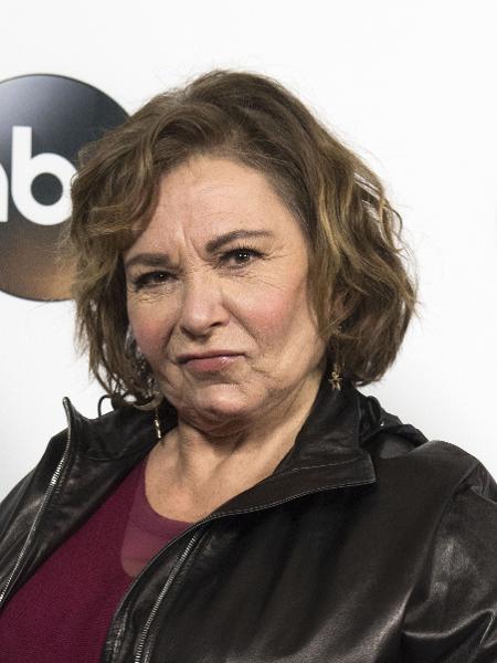 Roseanne Barr, antes de ser demitida pela ABC por um comentário racista no Twitter - AFP/Valerie Macon
