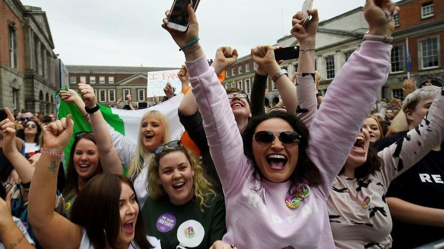 Por meio de plebiscito, Irlanda derruba emenda que proibía aborto. O país era o considerado um dos mais rigídos no país sobre a questão - Reuters