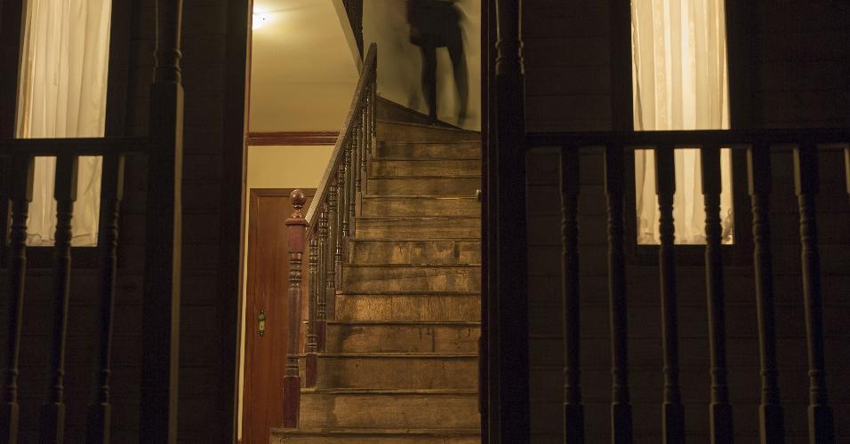 """Exposição """"Hitchcock: Bastidores do Suspense"""", no MIS, em São Paulo, mostra detalhes dos filmes feitos por Alfred HitchcockExposição """"Hitchcock: Bastidores do Suspense"""", no MIS, em São Paulo, mostra detalhes dos filmes feitos por Alfred Hitchcock"""