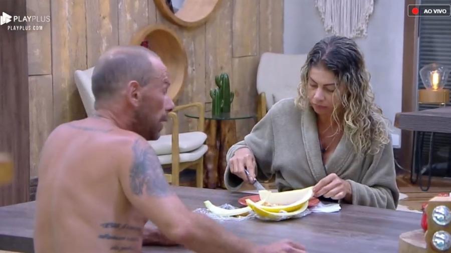 """Catia Paganote comenta sobre atividade surpresa em """"A Fazenda 10"""" - Reprodução/PlayPlus"""