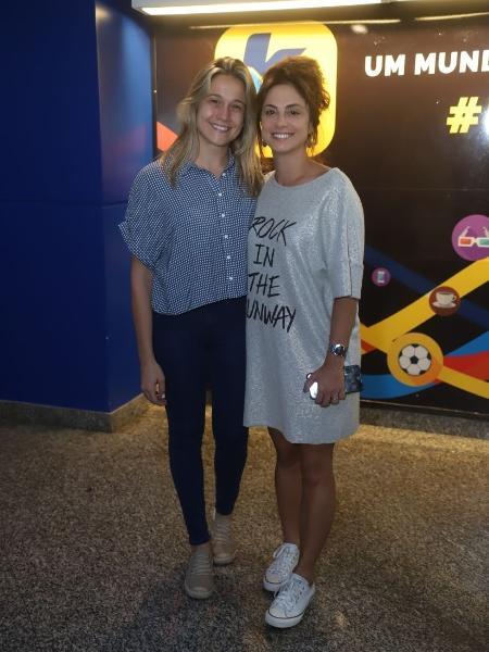 Fernanda Gentil e Priscila Montandon vão ao show de Sandy no Rio de Janeiro - Daniel Pinheiro/AgNews