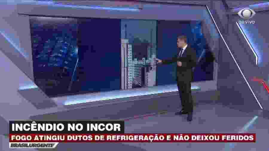 """Joel Datena apresenta """"Brasil Urgente"""" no lugar de Datena após denúncias de repórter - Reprodução/TV Bandeirantes"""