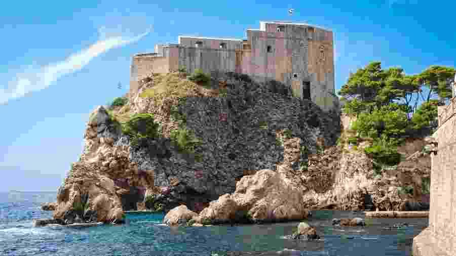 "Dubrovnik foi local de filmagens da série ""Game of Thrones"" - ValeryEgorov/Getty Images/iStockphoto"