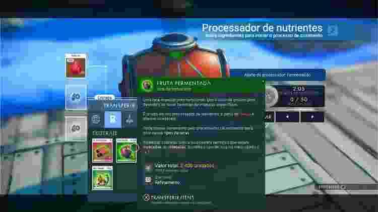 No Man's Sky Processador - Reprodução - Reprodução