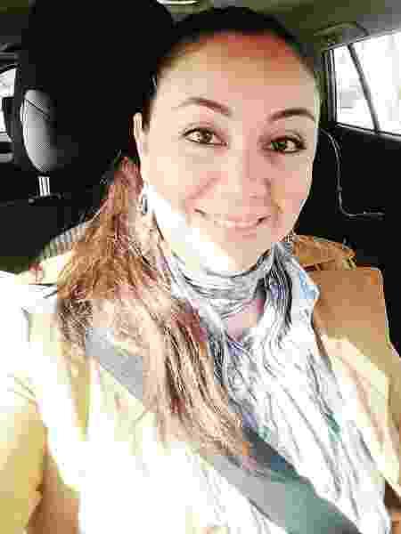 A chilena Nicole Rivera - Arquivo pessoal