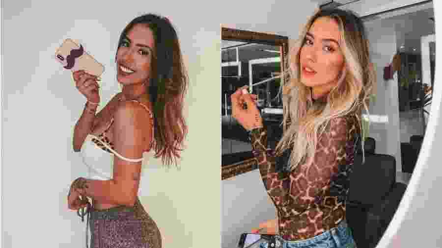 Gabi Brandt antes e depois de mudar o visual - Reprodução/Instagram