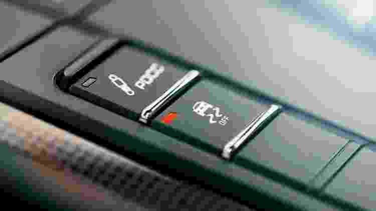 Botão do controle de estabilidade - Divulgação - Divulgação