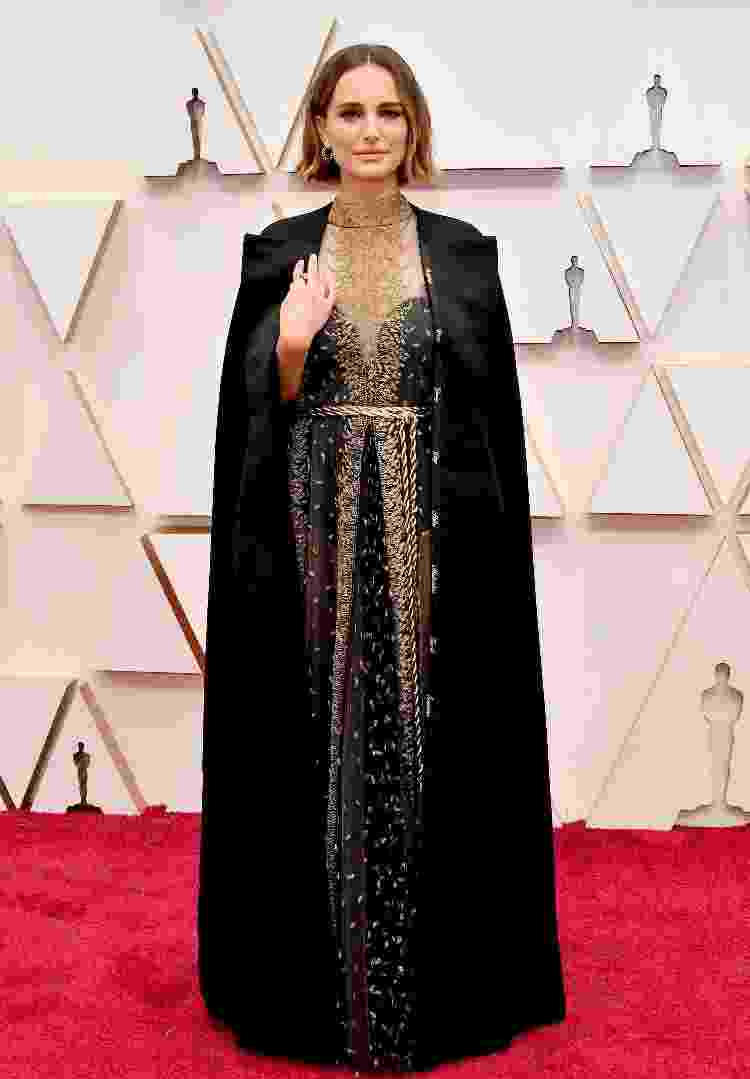 Natalie Portman no Oscar 2020 - Amy Sussman/Getty Images - Amy Sussman/Getty Images