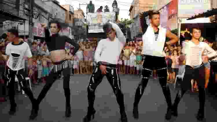 Cenas de série sobre gays na periferia, do Canal Brasil - Divulgação - Divulgação