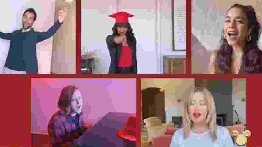 Reunião online do elenco de High School Musical - REPRODUÇÃO/TWITTER