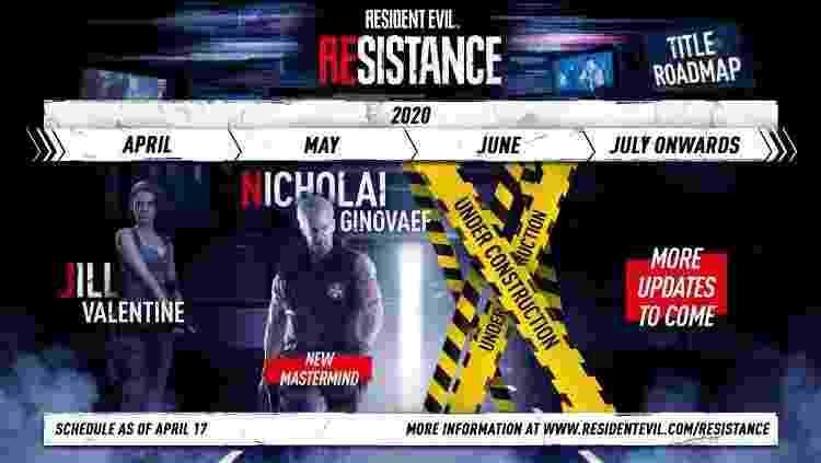 Roadmap Resistance - Divulgação - Divulgação