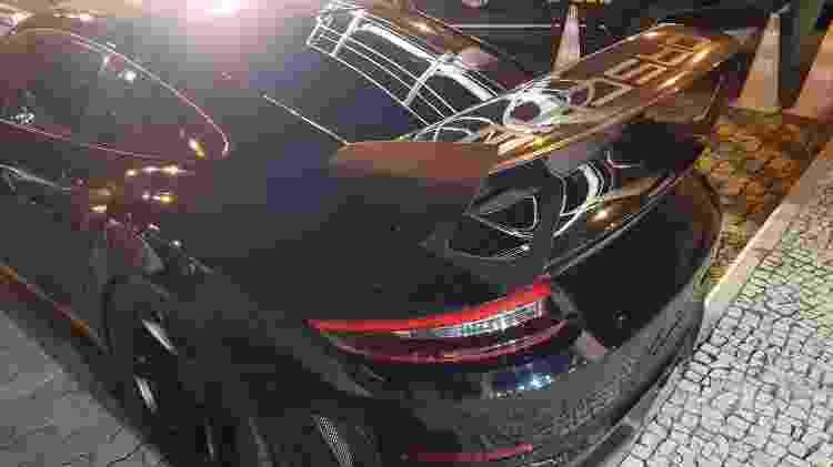 Porsche GT3 RS apreendido RJ Operação Party is Over PRF Porsche GT3 RS 2019 traseira - Divulgação - Divulgação