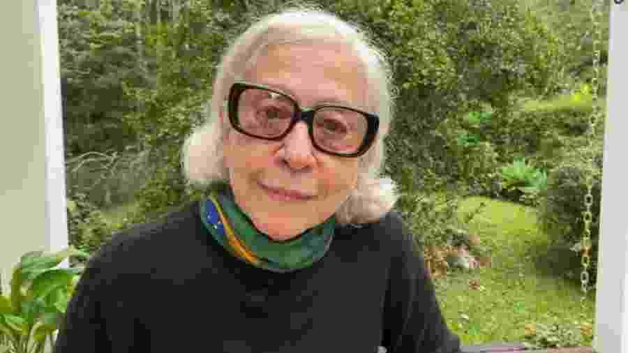 Em Petrópolis, no Rio, Fernanda Montenegro gravou um depoimento exaltando a importância da cultura para a sociedade e o País - Divulgação/Canal Brasil