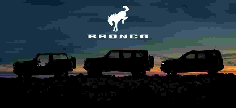 Ford Bronco será rival do Jeep Wrangler - Divulgação