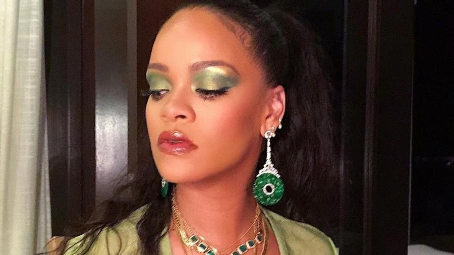 Marca de maquiagens de Rihanna anunciou que chegará ao Brasil na próxima semana - Reprodução / Instagram