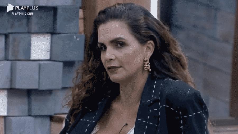A Fazenda 2020: Luiza Ambiel está a fim de causar para cima dos peões - Reproduçãol/Playplus