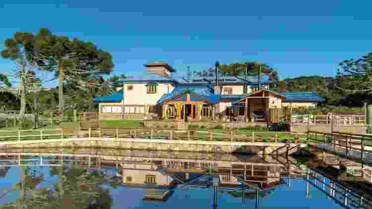 Casa em Urupema, no interior de Santa Catarina - Divulgação - Divulgação
