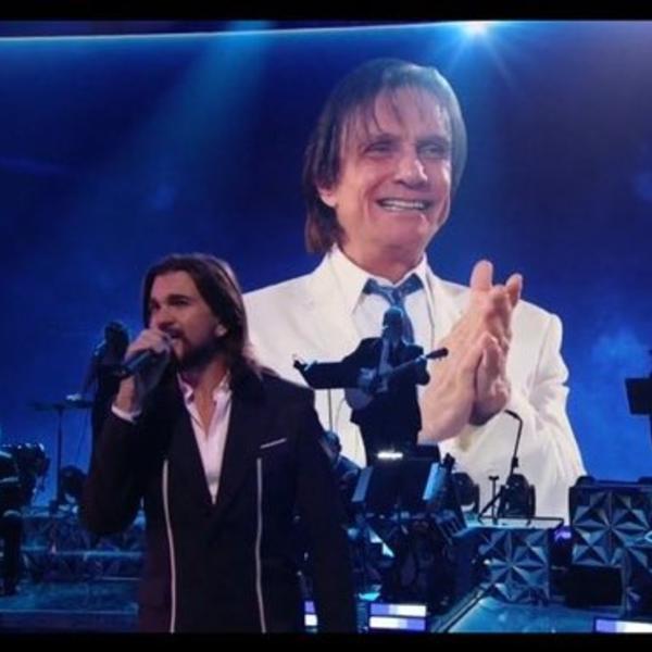 Homenagem de Juanes a Roberto Carlos no Grammy Latino 2020