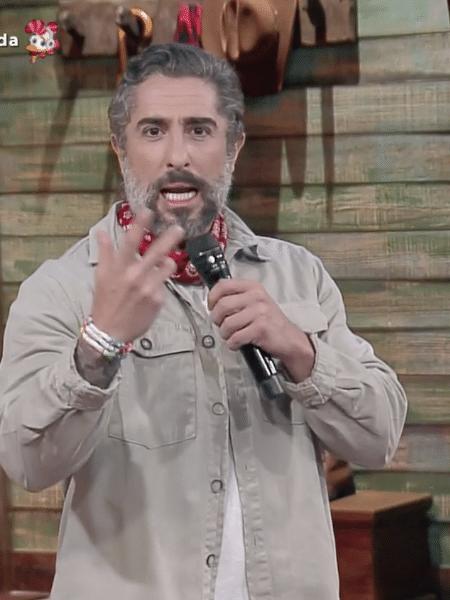 A Fazenda 2020: Marcos Mion na 1ª roça especial - Reprodução/RecordTV