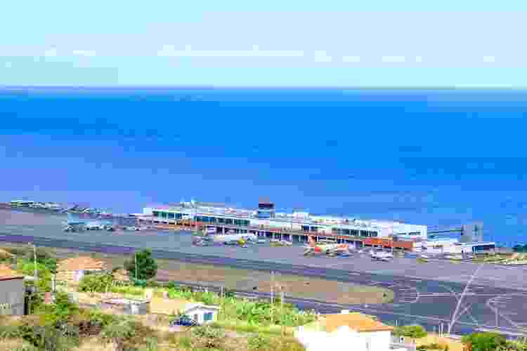 Aeroporto Cristiano Ronaldo, na Ilha da Madeira - Getty Images - Getty Images