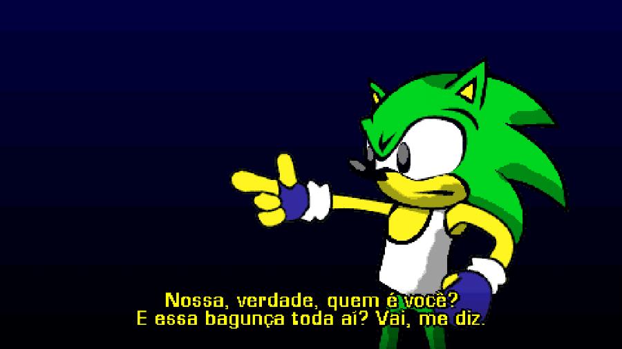 BraSonic 20XX coloca uma versão brasileira do ouriço contra o deputado Dr. Ivo Corruptnik - Reprodução/BraSonic 20XX