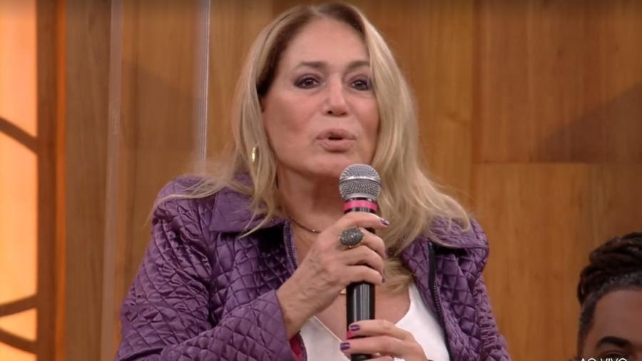 """Susana Vieira fala que isolamento foi """"momento triste"""" no """"Encontro"""" - Reprodução/TV Globo"""