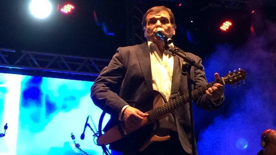 Jerry Adriani fez show em 2015 em homenagem aos 50 anos da Jovem Guarda, em São Paulo - Felipe Branco Cruz/UOL