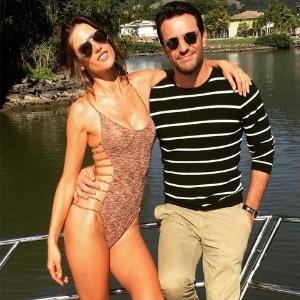"""Alessandra Ambrósio e Rodrigo Lombardi em cena de """"Verdades Secretas"""" - Reprodução /Instagram /alessandraambrosio"""