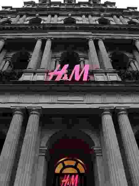 Fachada de loja H&M em Melbourne, na Austrália - Getty Images