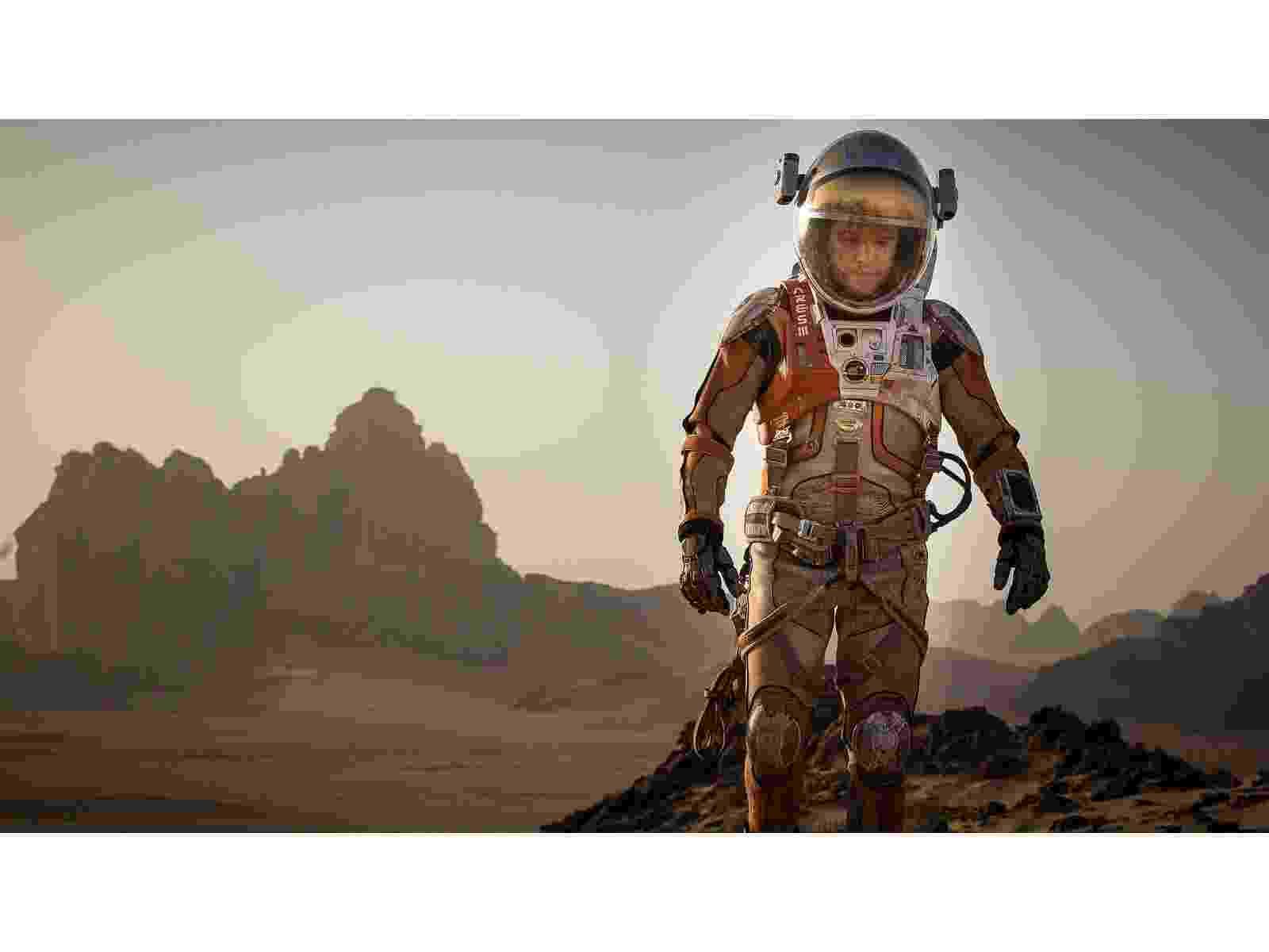 """Matt Damon é Mark Watney no filme """"Perdido em Marte"""", de Ridley Scott - Divulgação"""