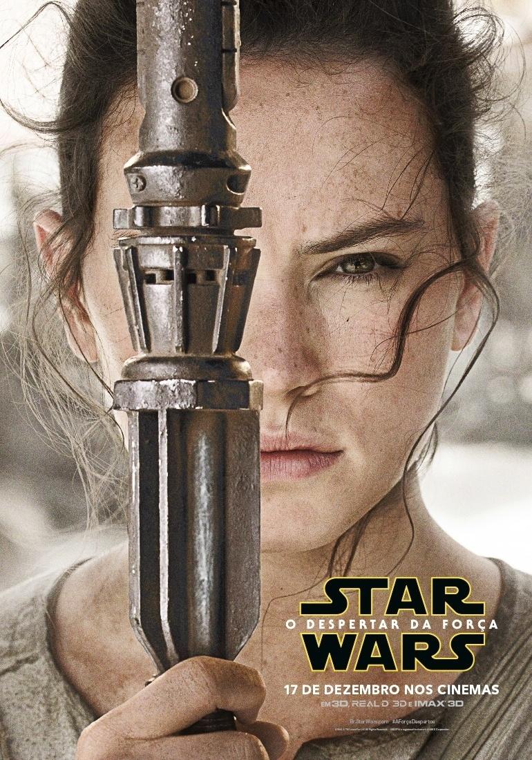 """4.nov.2015 - Personagens de """"Star Wars: Episódio VII - O Despertar da Força"""" ganham pôsteres individuais. Filme estreia no dia 17 de dezembro"""