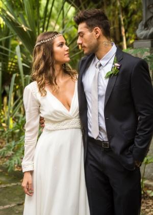 Pamela Tomé e Lucas Lucco, o casalzinho protagonista de Malhação 2016 - João Miguel Júnior/TV Globo