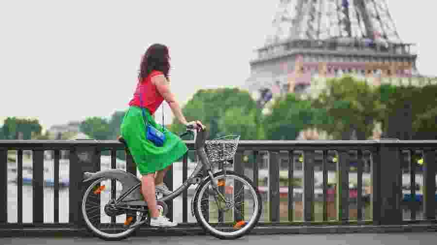 Bicicleta virou a melhor opção de países europeus contra a aglomeração de pessoas - iStock