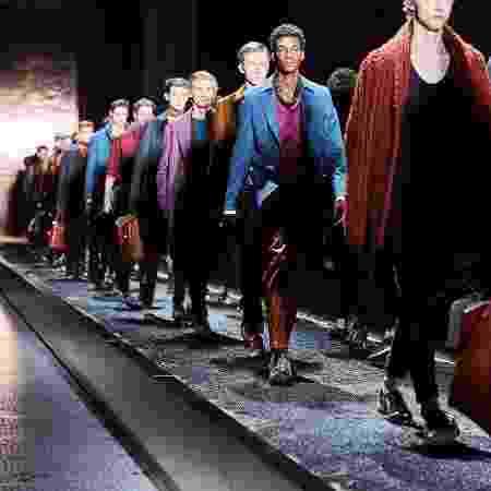 Desfile da Berluti na Semana de Moda Masculina de Paris em janeiro de 2016 - Reprodução/Facebook