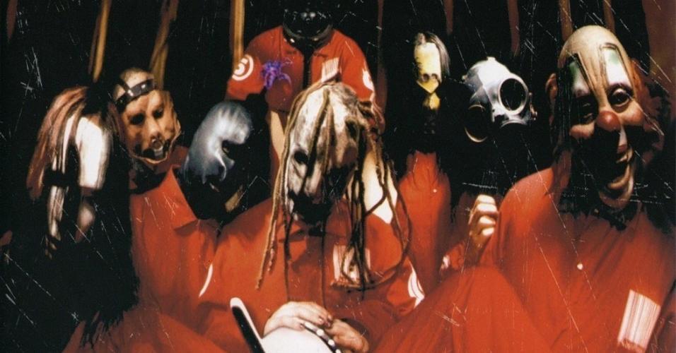 "Capa de ""Slipknot"""