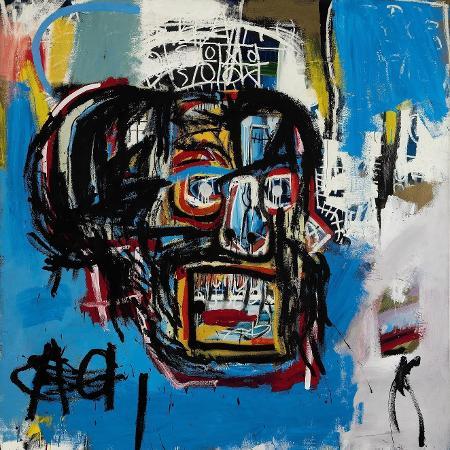 Quadro de Jean-Michel Basquiat - Divulgação