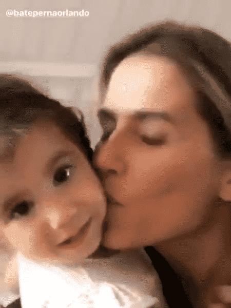 Deborah Secco com a filha, Maria Flor - Reprodução/Instagram - Reprodução/Instagram
