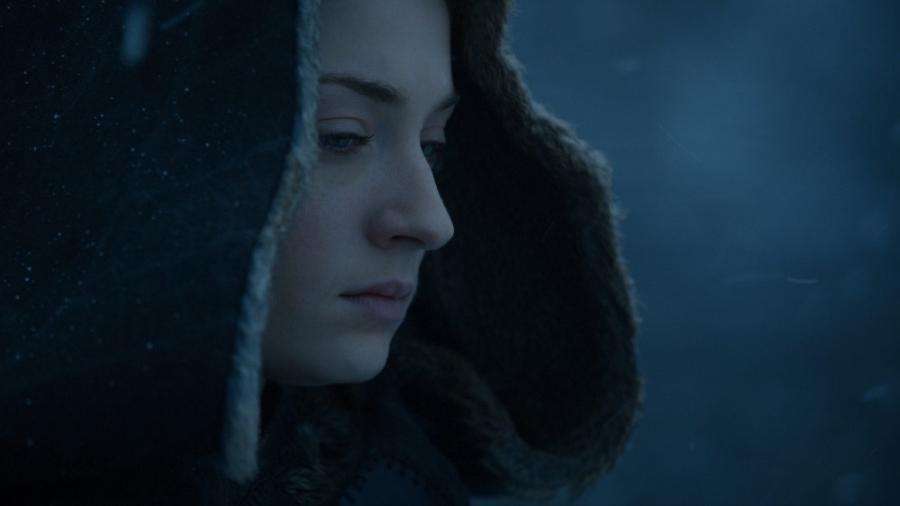 """Sansa em cena do último episódio da sétima temporada de """"Game of Thrones"""" - Divulgação/HBO"""