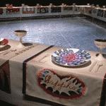 """Judy Chicago, """"Dinner Party"""", 1979 - Reprodução"""