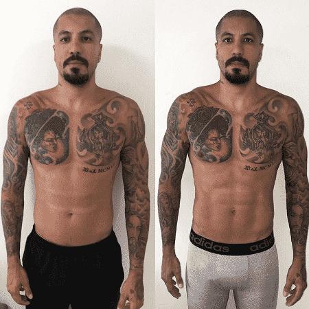 Ex-BBB Fernando Medeiros mostra antes e depois  - Reprodução/Instagram/femedeirostt