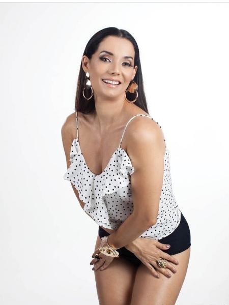 """Mônica Carvalho se prepara para o filme """"Amor Humor"""" - Divulgação"""