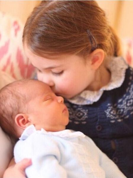 Charlotte e Louis - Reprodução / Instagram