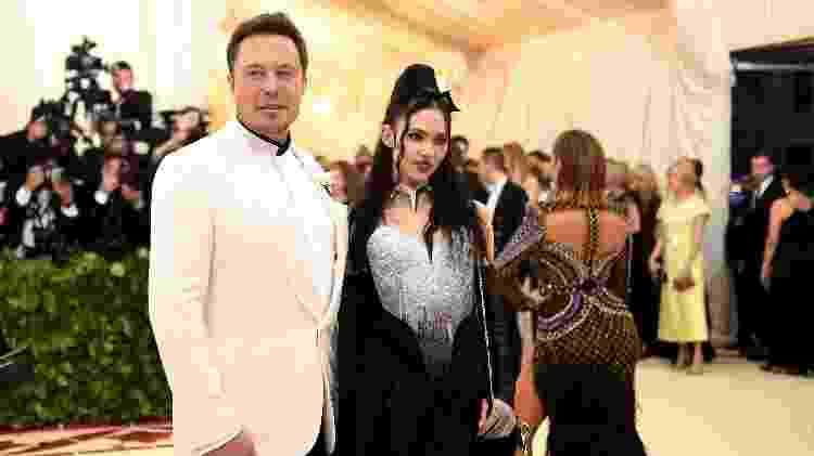 Elon Musk e Grimes - Getty Images - Getty Images