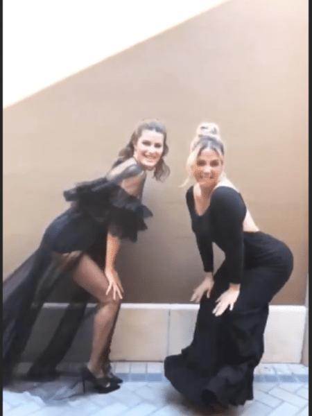 Isabeli Fontana aprende a dançar com Carla Perez - Reprodução/Instagram