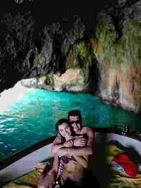 Letícia Datena e marido antecipam lua de mel na Itália - Reprodução/Instagram/leticiadatena