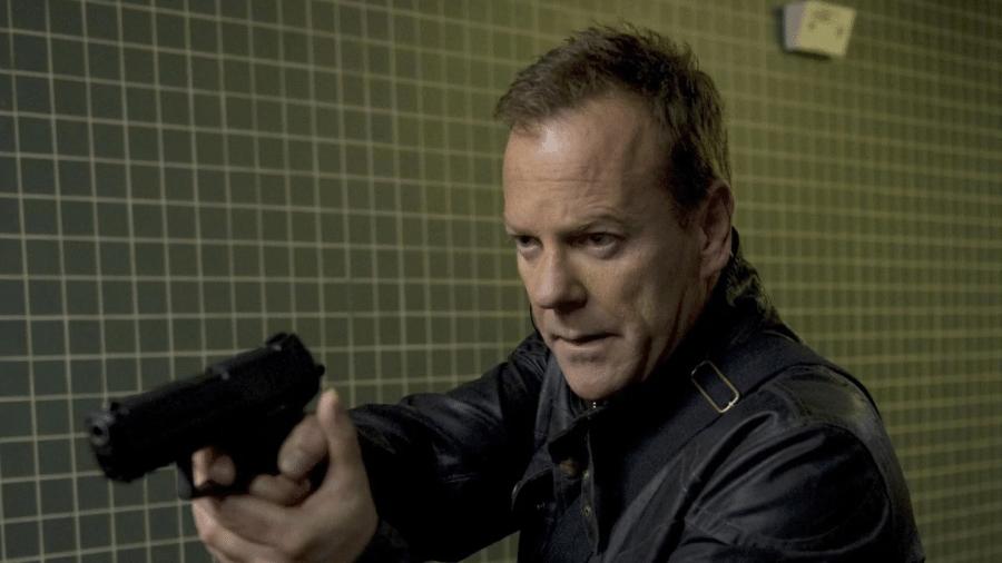 """Kiefer Sutherland como Jack Bauer em """"24 Horas"""" - Reprodução"""