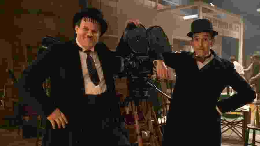 """Cena do filme """"Stan & Ollie"""" - Divulgação"""