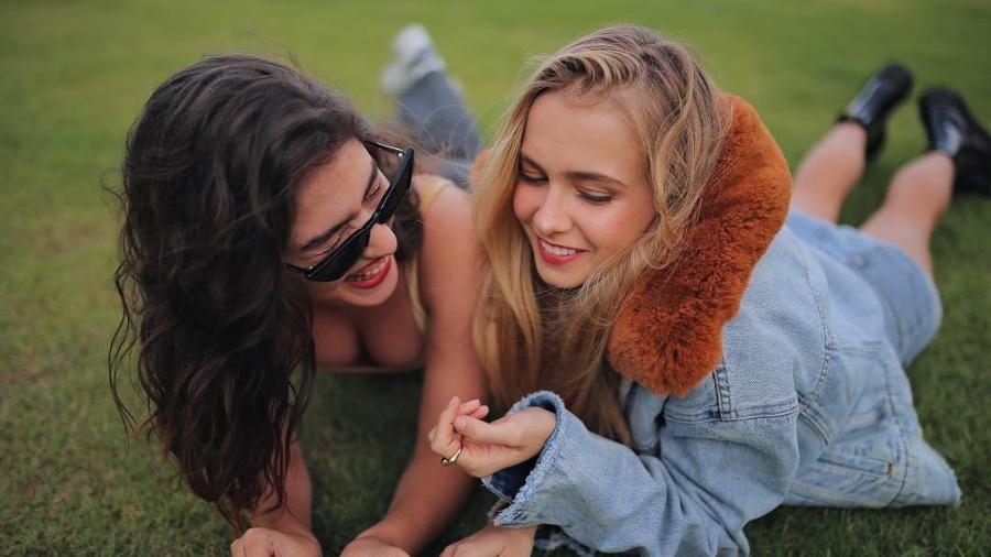 Isabella Scherer e Giovanna Grigio - Reprodução/Instagram