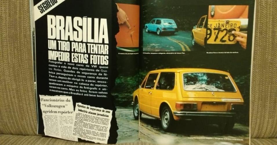 Volkswagen Brasília flagra Larangeira