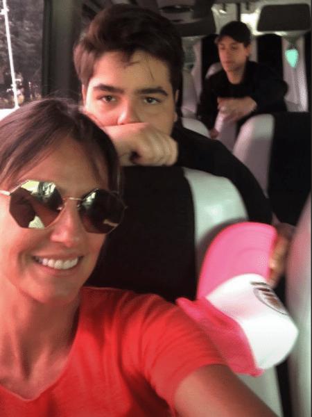 Luciana Cardoso com o filho, João Guilherme - Reprodução/Instagram